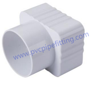 7 inch pvc gutter CONVERSION JOINT