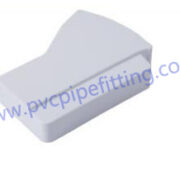 7 inch pvc gutter right end cap