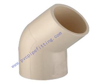 CPVC ASTM D2846 CTSFEITTING 45 DEG ELBOW