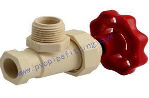 CPVC ASTM D2846 ANGLE VALVE TYPE