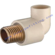 CPVC ASTM D2846 MALE ELBOW(COPPER THREAD)