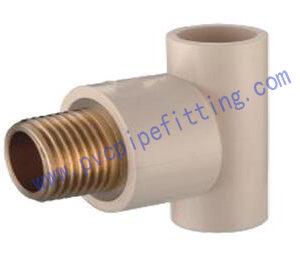 CPVC ASTM D2846 MALE TEE(COPPER THREAD)