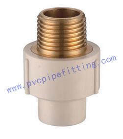 CPVC ASTM D2846 Male coupling (copper thread)