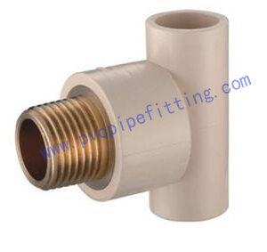 CPVC ASTM D2846 Male tee(copper thread) I