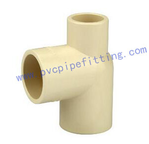 CPVC ASTM D2846 Y reducing tee