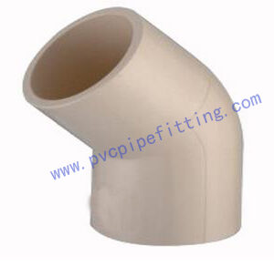 CPVC DIN FITTING 45DEG ELBOW