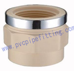CPVC DIN FITTING REINFORCED FEMALE THREAD ADAPTER