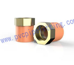 CPVC FITTING FEMALE ADAPTOR WITH BRASS THREADED I ASTM Fire Sprinkler