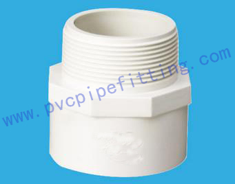 DIN PVC FITTING MALE ADAPTER