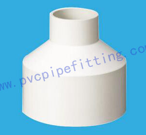 DIN PVC FITTING REDUCING COUPLING