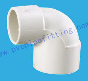 DIN PVC FITTING REDUCING ELBOW