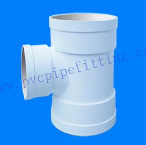 GB PVC DWV FITTING REDUCING TEE