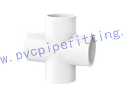GB PVC FITTING CROSS FOR WATER SUPPLY