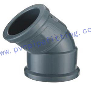NBR PVC FITTING 45°ELBOW