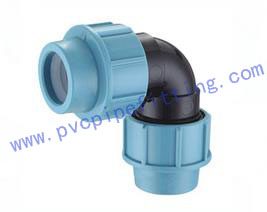 PP Compression FITTING ELBOW