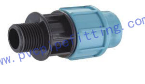 PP Compression FITTING MALE ADAPTOR