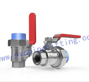 PPR Antibacterial FITTING FEMALE BALL VALVE (BRASS)
