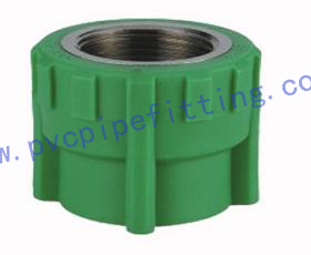 PPR FITTING FEMALE COUPLING(COPPER THREAD)