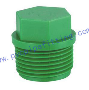 PPR FITTING Male plug