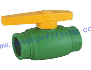 PPR FITTING NEW STYLE BALL VALVE