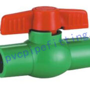 PPR FITTING SIMPLE BALL VALVE PPR