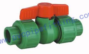 PPR FITTING TRUE UNION BALL VALVE PPR