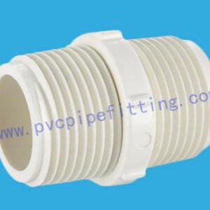 PVC BSP THREADABLE FITTING NIPPLE