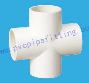 PVC FITTING CROSS DIN