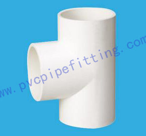 PVC FITTING EQUAL TEE DIN