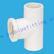 PVC FITTING FEMALE TEE DIN