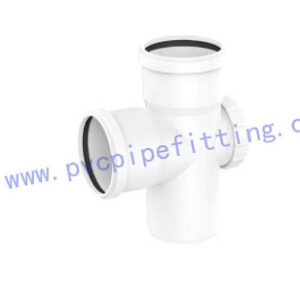 PVC Gasketed FITTING DOOR TEE WITH PORT