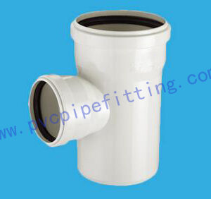 PVC Gasketed FITTING REDUCING TEE