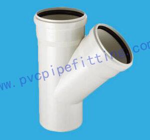 PVC Gasketed FITTING SKEW TEE