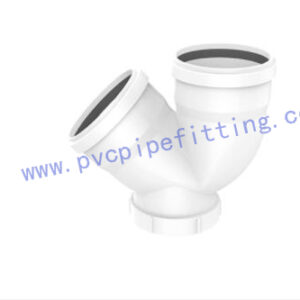 PVC Gasketed FITTING TRAP WITH PORT