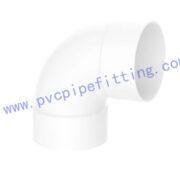 SCHEDULE 40 PVC DWV FITTING 90 DEG ELBOW(ASTM D2665)