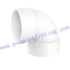 SCHEDULE 40 PVC DWV FITTING 90 DEG VENT ELBOW(ASTM D2665)