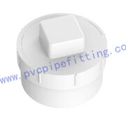 SCHEDULE 40 PVC DWV FITTING ADAPTER WITH PLUG (SP)(ASTM D2665)