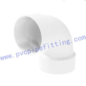 SCHEDULE 40 PVC DWV FITTING ELBOW (ASTM D2665)