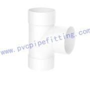 SCHEDULE 40 PVC DWV FITTING SANITARY TEE (ASTM D2665)