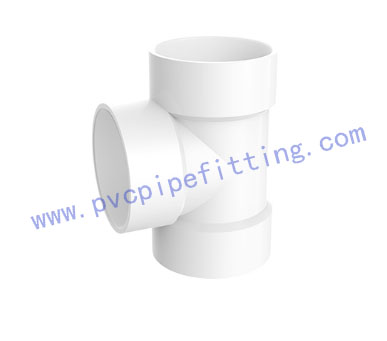 SCHEDULE 40 PVC DWV FITTING TEE (ASTM D2665)