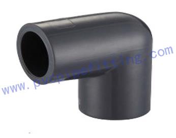 SCHEDULE 80 PVC FITTING 90 DEG ELBOW