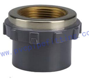 SCHEDULE 80 PVC FITTING FEMALE COUPLING(COPPER THREAD)