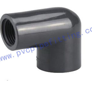 SCHEDULE 80 PVC FITTING FEMALE ELBOW