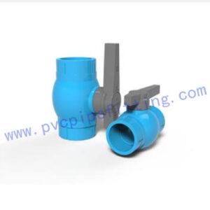 TIS PVC FITTING BALL VALVE (SOCKET)