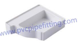 pvc gutter left end cap