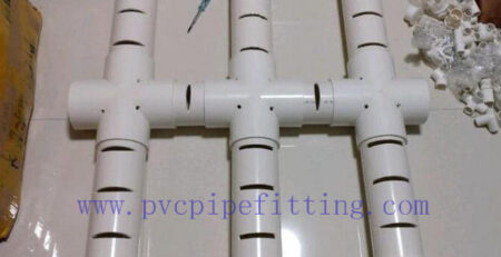 pvc Pipe drilling