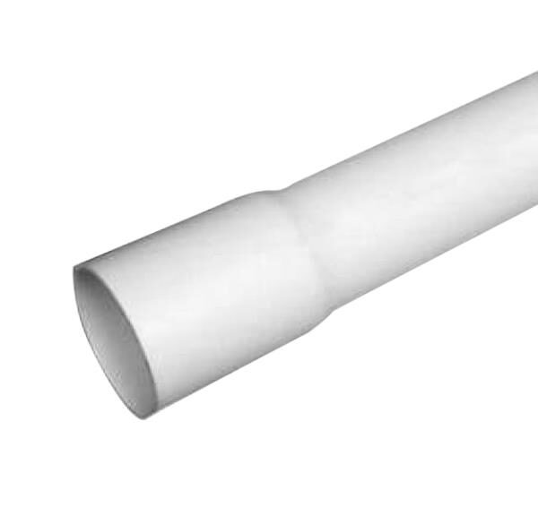 pvc sch40 bell end pipe