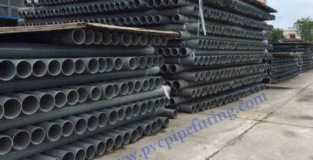 PVC pipe storage