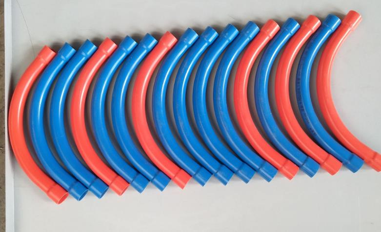 PVC wire bend pipe any color