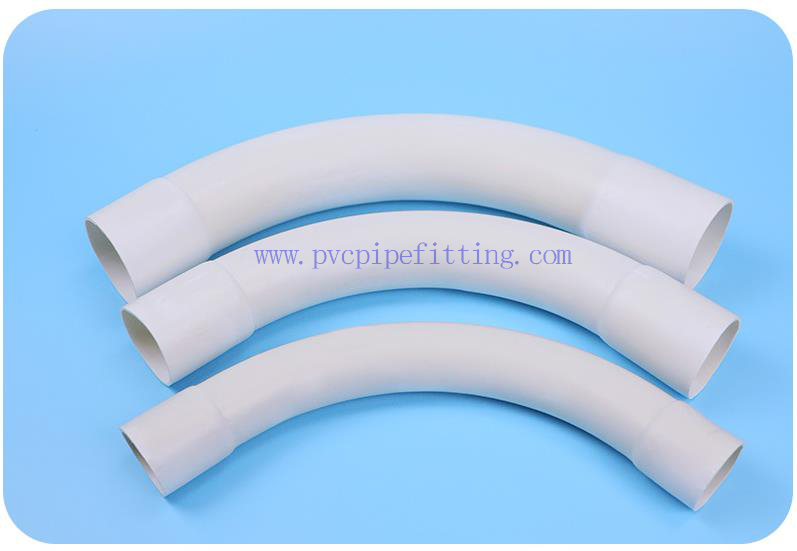 pvc wire bend pipe